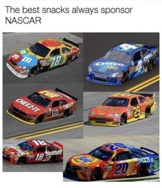 The best snacks always sponsor NASCAR - iFunny :) Funny Cute, The Funny, Hilarious, All The Things Meme, Good Things, Nascar, Oreo, Tide Pods, Lol