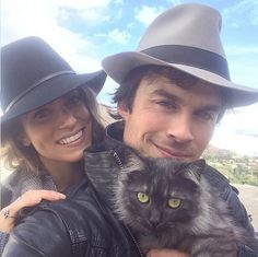 Enjoy a round of fun facts about Ian Somerhalder who plays Damon Salvatore on The Vampire Diaries. Learn all about his work with ISF and guilty pleasures!
