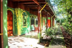 Room building La Choza del Manglar Puerto Jimenez, Osa Peninsula Costa Rica #vacation #family #fun