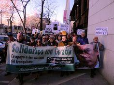 24 de enero de 2012: Comienza el juicio contra Baltasar Garzón por haberse declarado competentente para investigar los crímenes cometidos durante el franquismo. Efemérides: Se cumplen 35 años de los asesinatos de la calle Atocha.