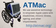 Information about all Apple products for users with disability, chronic illness, or other impairments.