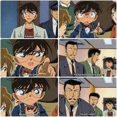 -Oi, eu sou Kudou Shinichi. -Ele é o Kaitou Kid! -E como sabe disso? -Porque eu sou o verdadeiro... -O verdadeiro o quê?
