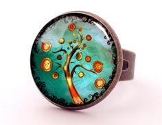 TREE OF LOVE ring, 0610RB from EgginEgg by DaWanda.com