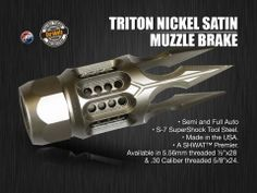Triton muzzle brakes