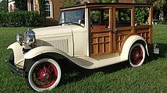 1931 Ford Model A Woody WagonRe-pin..Brought to you by #CarInsurance #EugeneOregon and #HouseofInsurance