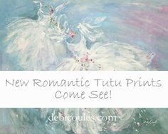 I am just thrilled to be offering my new Shabby Romantic Tutu Canvas Giclee Prints. Gallery wrapped and so many sizes from the small to very large! You will absolutely LOVE these!