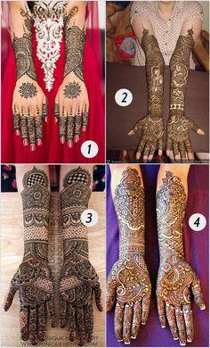 Circles And Dots - Bridal Mehndi Designs For Hands