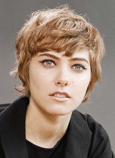 Very short wavy haircuts for women