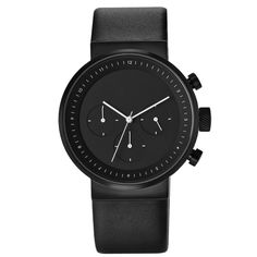 Kuira black chronograph is Italian designer Alessio Romano's latest watch for US brand Projects