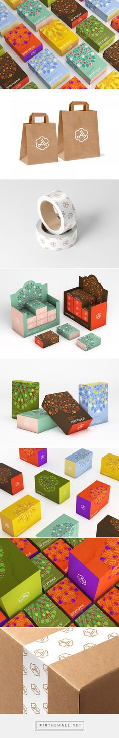 Aromayur (Concept) - Packaging of the World - Creative Package Design Gallery - http://www.packagingoftheworld.com/2017/04/aromayur-concept.html