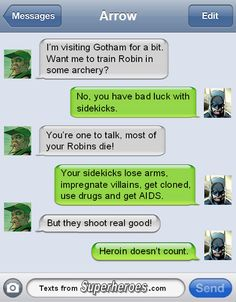 superhero text messages - Bing Images