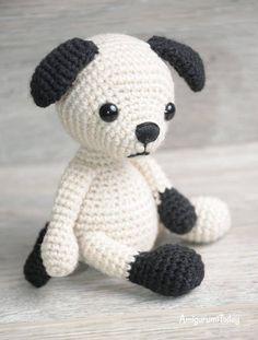 Amigurumi Tommy the Dog crochet pattern