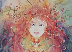 """""""The Garden Sprite (zoom)"""" par Helena Nelson-Reed"""