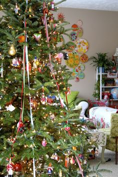 colorful Christmas by contentedsparrow{megan}, via Flickr