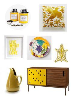 color trend: marigold