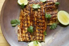 Grilled Fish with Red Chile Adobo