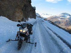 Let it snow... Diario Motocicleta