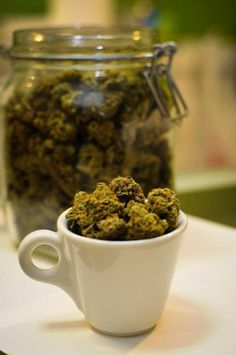 #morningcupofcoffee #cupoftea #Weed-accino