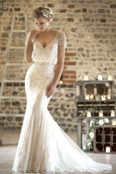Vintage wedding dress that so inspired 44