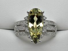 3.93 Ct. Zultanite & .14 Ct. Diamond Ring 14k Solid Gold Cert Of Auth BR003095