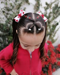 Easy Toddler Hairstyles, Cute Little Girl Hairstyles, Girls Natural Hairstyles, Cute Girls Hairstyles, Braided Hairstyles For Wedding, Princess Hairstyles, Prom Hairstyles, Leila, Hair Dos