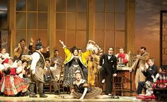 The Metropolitan Opera and The Juilliard School's Bartered Bride, 2001. Photograph by Nan Melville 2011.