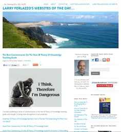 Larry Ferlazzo's Websites of the Day - Great Resource For Teaching ELL, ESL, & EFL