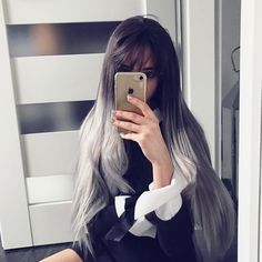 Look at this beauty@yudemereshe is rocking the grey Ombre Synthetic Wigs with Bangs.Do you want try this one?wig sku:edw1018 Use Coupon Code: INS to get 10% Off on your order. www.everydaywigs.com#everydaywigs#bangs#wig#hairstyle#hairstyleforgirls#straightwig#ombrewig#longhair#hairstyles#lacefrontwig#beauty#frontlacewig#frontlacewigs#syntheticwigs#synthetic#beauty#instyle#newhair