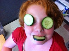 Olivia loves all of the healthy fruits & veggies that we Get to try in our classroom every afternoon.  myteachermrleach.blogspot.com