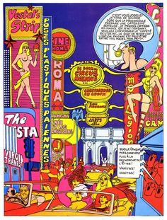 Mazzu Stardust: El Arte Pop y Psicodélico de Guy Peellaert