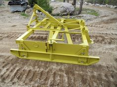 Snow and Grader Blade by Rustyiron -- Homemade snow and grader blade constructed from tubing, angle iron, steel plate, and channel. http://www.homemadetools.net/homemade-snow-and-grader-blade