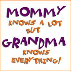 It's great to be a grandma!!