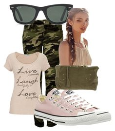 """Bez naslova #409"" by dinka1-749 ❤ liked on Polyvore featuring mode, maurices, Converse, Jérôme Dreyfuss, Ray-Ban et Free People"