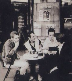 The Clash - Joe, Paul, Mick and Topper.