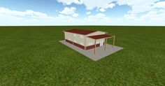 3D #architecture via @themuellerinc http://ift.tt/2cC4B9V #barn #workshop #greenhouse #garage #DIY