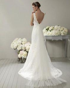 Robe de mariée NEUVE Adrianna Allier modèle Gomera - Drôme