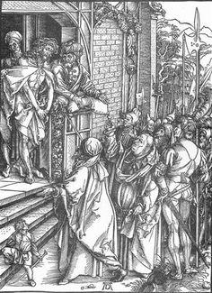 Ecce Homo - Albrecht Durer 1510