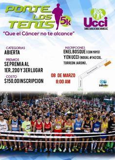 PONTE LOS TENIS...QUE EL CANCER NO TE ALCANCE 5K
