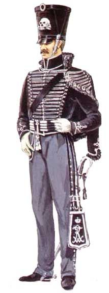 униформа рядового 2-го лейб-гусарского полка - Uniforms Private 2nd Life Hussars
