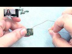 Beadweaving Basics - Flat Square Stitch