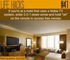 "HOW  TO ACCESS FREE MOVIES More life hacks at ""Life hackers"" ,Click here"