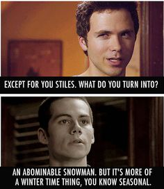 stiles abominable snowman - Google Search