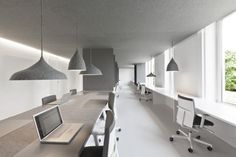 office 04   by: i29 interior architects  Soft and simple interior
