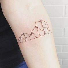 Magazine - 15 inspirations pour un tatouage origami original - Allotattoo