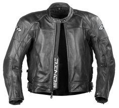Joe Rocket Black Sonic 2.0 Leather Motorcycle Jacket 551-200 #JoeRocket #Motorcycle