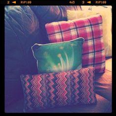 mmm.. cozy pillows