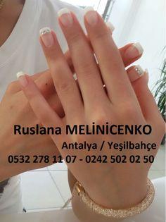 Ruslana Protez Tırnak, İpek Kirpik Uygulama ve Sertifikalı Eğitim Merkezi Antalya / Yeşilbahçe  Randevu ve Bilgi İçin; 0532 278 11 07 - 0242 502 02 50 www.proteztirnakvekirpik.com