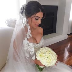 Steven Khalil wedding dress bride natalieannehair Melissasassine