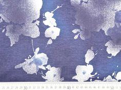 French Terry Bumen, dunkelblau-weiß Diagram, Map, Dark Blue, Darkness, Patterns, Location Map, Maps