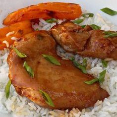 A spicy, homemade teriyaki sauce makes this chicken pretty dang amazing.  Allrecipes.com